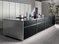 Cucina componibile con isolaTK38 - ROSSANA