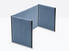 Pannello divisorio da scrivania fonoassorbente modulareTOA FOLDING SCREEN - PEDRALI