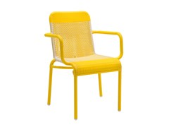 Sedia da giardino con braccioliTOBAGO | Sedia con braccioli - KOK MAISON