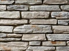 Rivestimento in pietra ricostruitaTOCE P19 | Bianco Marmo - GEOPIETRA