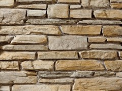 Rivestimento in pietra ricostruitaTOCE P19 | Bianco Reale - GEOPIETRA