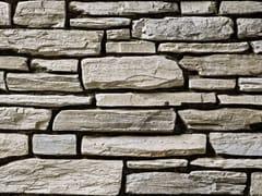 Rivestimento in pietra ricostruitaTOCE P19 | Bianco Terra - GEOPIETRA