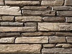 Rivestimento in pietra ricostruitaTOCE P19 | Marrone Costa - GEOPIETRA