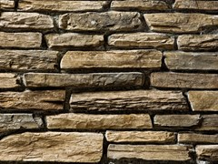Rivestimento in pietra ricostruitaTOCE P19 | Marrone Terra - GEOPIETRA