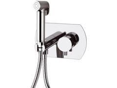 Miscelatore per doccia da incasso monocomando in ottone con doccetta TOKYO | Miscelatore per doccia con doccetta - Tokyo