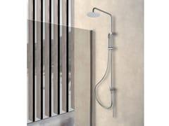 Colonna doccia a parete con doccettaTOKYO - WEISS-STERN