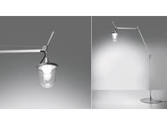 Lampada da terra per esterno a LED orientabile in alluminioTOLOMEO LAMPIONE OUTDOOR FLOOR | Lampada da terra per esterno - ARTEMIDE