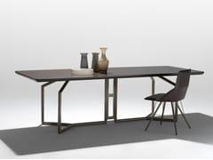 Tavolo rettangolare in legno TOLOMEO | Tavolo rettangolare -