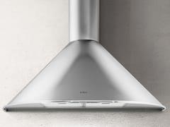 Cappa in acciaio inox a parete con illuminazione integrataTONDA - ELICA