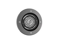 Faretto per esterno a LED da incassoTONDO 9 - NEXO LUCE