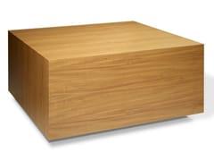 Tavolino di servizio quadrato in legno impiallacciato TOO SIMPLE | Tavolino -