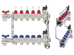 Collettore di distribuzione in acciaio inossidabile TOPWAY S - Collettori, cassette e valvole a sfera motorizzate