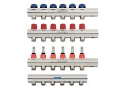 Collettore di distribuzione a barra singola TOPWAY a barra singola - Collettori, cassette e valvole a sfera motorizzate