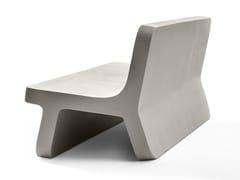 Panca in Cimento® con schienaleTORCELLO | Panca - CIMENTO