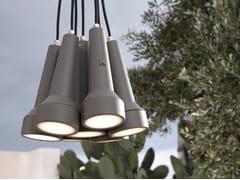 LAMPADA A SOSPENSIONE A LUCE DIRETTA IN TECNOPOLIMEROTORCIA   LAMPADA A SOSPENSIONE - KARMAN