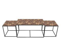 Tavolino rettangolare TORTOISE TRINITY COFFEE TABLE SET -