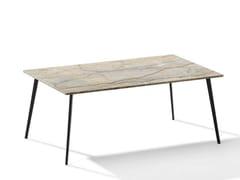 Tavolino da caffè rettangolare in pietra naturale TOSCA | Tavolino rettangolare -