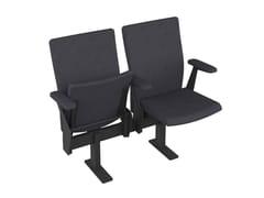 Seduta su barra con braccioli con sedile ribaltabileTOTEN - METALÚRGICA DO LEVIRA