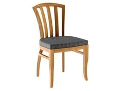 Sedia da giardino in teak decòTOURNESOL | Sedia da giardino - ASTELLO BY THIERRY MASSANT