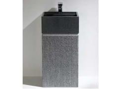 Lavabo freestanding in granitoTOWER BLACK - R.G. SERVICE