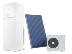 Basamento combinate con bollitore solare IBRIDETOWER GREEN Hybrid S 35/200 BSI - RIELLO SPA DIVISIONE BERETTA CALDAIE