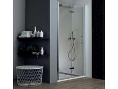 Box doccia a nicchia con porta a soffiettoTPS35 | Box doccia a nicchia - TAMANACO