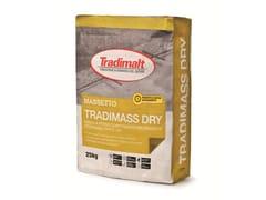 TRADIMALT, TRADIMASS DRY Malta certificata per massetto a rapida essiccazione