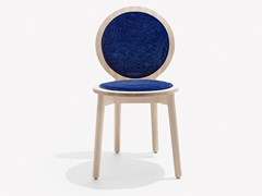 Sedia imbottita in cotone Harald e legno di frassinoTRANQUEBAR | Sedia in frassino - CALYAH
