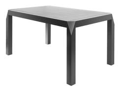 Tavolo allungabile rettangolare in legnoTRAPEZIO - 4PLUS1 ITALIA