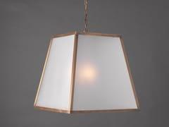 Lampada a sospensione a luce diretta in metallo in stile modernoTRAPEZIO - OFFICINACIANI DI CATERINA CIANI & CO.