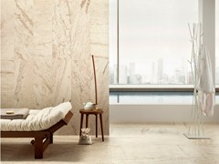 Travertine effect