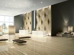 GranitiFiandre, TRAVERTINO Pavimento/rivestimento in gres porcellanato effetto marmo