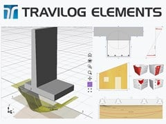 LOGICAL SOFT, TRAVILOG ELEMENTS Progetto e verifica di singoli elementi strutturali