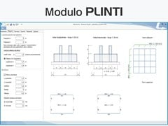 LOGICAL SOFT, TRAVILOG ELEMENTS -  Modulo PLINTI Software per calcolo e verifica di strutture di fondazione