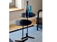 Tavolino rotondo in MDF TRE -
