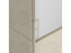 Bordo in alluminio per rivestimentiPROANGLE ZV TREND COLOR STONE - PROFILPAS