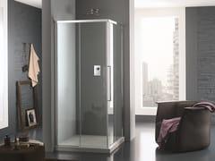 INDA®, TRENDY DESIGN - 1 Box doccia in vetro con porte scorrevole