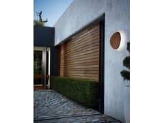Applique per esterno a LED in legno o alluminioTRIA 04 OUTDOOR - BOVER IL. LUMINACIÓ & MOBILIARIO