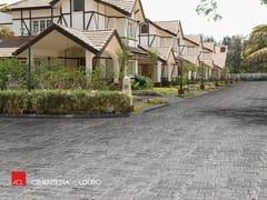 Pavimento per esterni effetto pietraTRIANON - A CIMENTEIRA DO LOURO