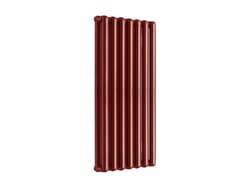Termoarredo di design a sviluppo verticaleTRIBECA 1800 - 7 ELEMENTI RUBINO - FONDITAL