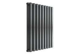 Termoarredo di design a sviluppo verticaleTRIBECA 600 - 9 ELEMENTI ARDESIA - FONDITAL
