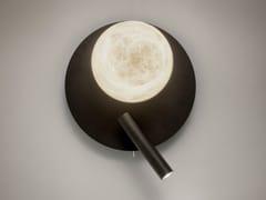 Lampada da parete in ferro e alabastroTRIBECA | Lampada da parete - ALMA LIGHT