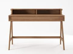 Scrivania rettangolare in legno masselloTRIBUTE   Scrivania - KARPENTER