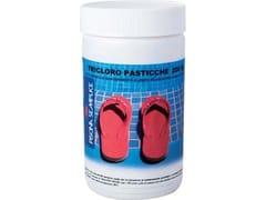 Tricloro per piscina pastiglieTRICLORO PASTICCHE  200GR - PISCINA SEMPLICE C/O LAPI CHIMICI