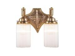 Lampada da parete fatta a mano in ottone TRIEST II | Lampada da parete - Triest