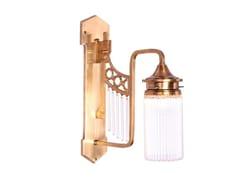 Lampada da parete fatta a mano in ottone TRIEST V | Lampada da parete - Triest