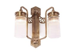 Lampada da parete fatta a mano in ottone TRIEST VI | Lampada da parete - Triest
