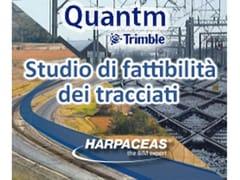 HARPACEAS, TRIMBLE QUANTM Studio di fattibilità dei tracciati