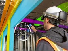 HARPACEAS, TRIMBLE XR10 Visore virtuale per il settore delle costruzioni