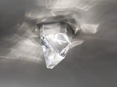 Lampada da soffitto a LED in cristallo TRIPLA | Lampada da soffitto in cristallo - Tripla